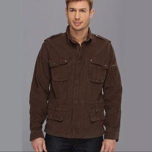 Lucky Brand Jeans Men's Aviator Cord Jacket